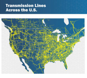 Transmission Lines Across the U.S. ELPC Beyond Wires Report